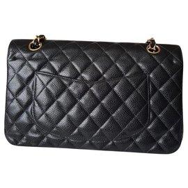 Chanel-TIMELESS-Black,Metallic