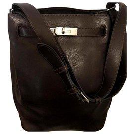 Hermès-Kelly sport-Dark brown