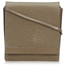 Louis Vuitton-Louis Vuitton Grey Epi Biarritz-Gris