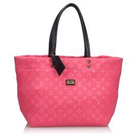 Louis Vuitton-Louis Vuitton Pink Monogram Scuba MM-Rose