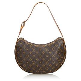 Louis Vuitton-Croissant Louis Vuitton Monogram Marron MM-Marron