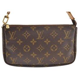 Louis Vuitton-Louis Vuitton Pochette Zubehör-Braun