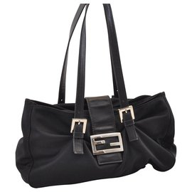 Fendi-Fendi Hand Bag-Black