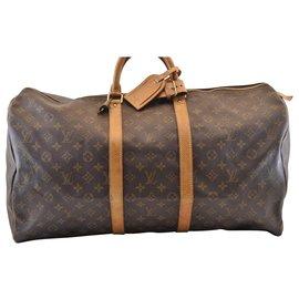 Louis Vuitton-Louis Vuitton Keepall 55-Braun