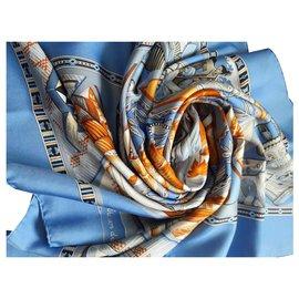 Hermès-AU SON DU TAM-TAM-Bleu