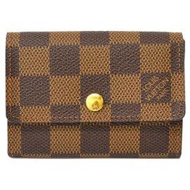 Louis Vuitton-Louis Vuitton Coin Case-Brown