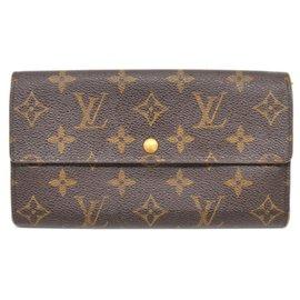 Louis Vuitton-Louis Vuitton Brieftasche-Braun