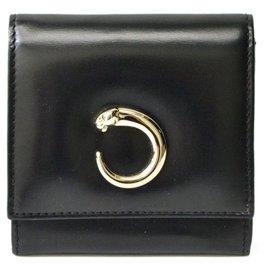 Cartier-Cartier Brieftasche-Schwarz