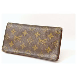 Louis Vuitton-Louis Vuitton Long Wallet-Brown