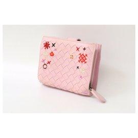Bottega Veneta-Bottega Veneta Wallet-Pink
