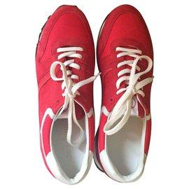 Louis Vuitton-SNEAKER-Red