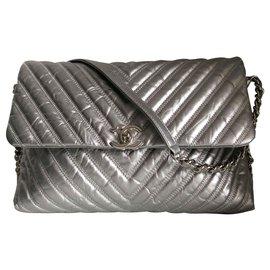 Chanel-Handtaschen-Grau