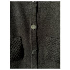 Chanel-Black Chanel Cardigan-Black