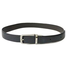Autre Marque-dunhill Leather Belt-Brown