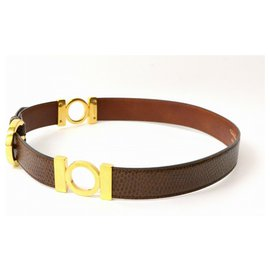 Salvatore Ferragamo-Salvatore Ferragamo Belt-Brown