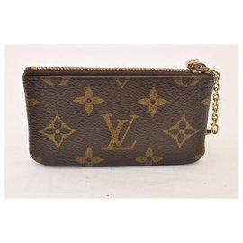 Louis Vuitton-Louis Vuitton Münzetui-Braun