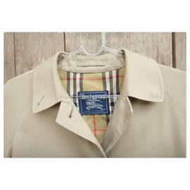 Burberry-Waterproof Burberry vintage size 34/36-Khaki