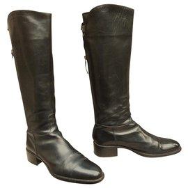 Sartore-bottes cavalières Sartore-Noir