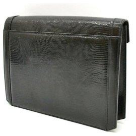 Yves Saint Laurent-Yves Saint Laurent Classique Leather-Black