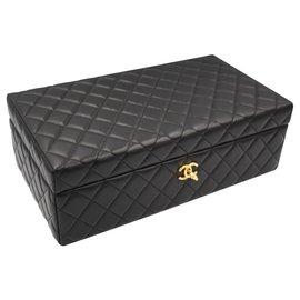Chanel-Jewelery case-Black