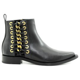 Alexander Mcqueen-Mcqueen boots new-Black