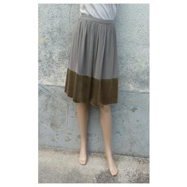Burberry-Skirts-Golden,Light brown