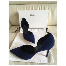 Céline-Orsay Pump-Navy blue