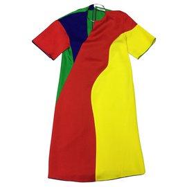 Céline-Robe de Céline-Multicolore