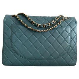 Chanel-Maxi Chanel blue-Blue