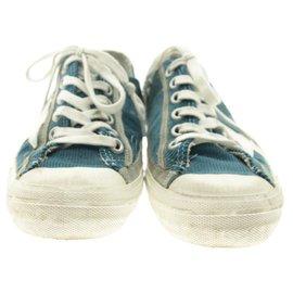 Golden Goose-Golden goose sneakers-Blue