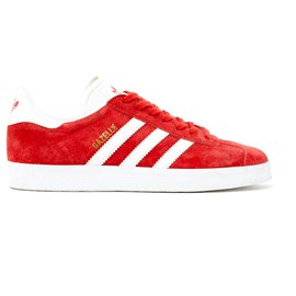 Adidas-GAZELLE FR38 SUEDE RED NEW-Rouge