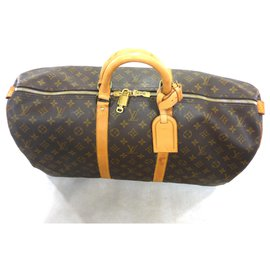 Louis Vuitton-keepall 55 Monogram-Brown