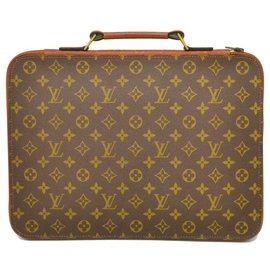 Louis Vuitton-Louis Vuitton Porte document-Brown