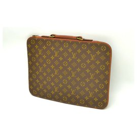 Louis Vuitton-Louis Vuitton Porte document-Brown