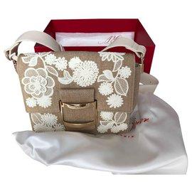 Roger Vivier-Handbags-Beige