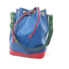 Louis Vuitton-NOE GM TRICOLOR EPI LEATHER-Red,Blue,Green