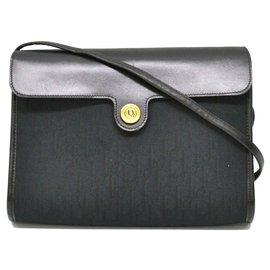 Dior-Dior Vintage Shoulder Bag-Black