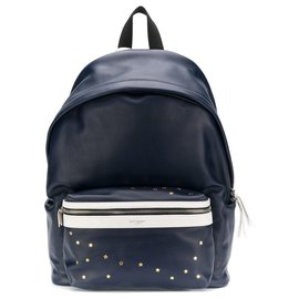 95c409476 Yves Saint Laurent-Yves Saint Laurent backpack-Blue ...