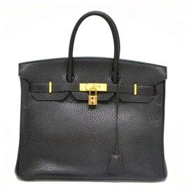 Hermès-HERMES BIRKIN 35-Black