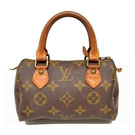Louis Vuitton-Louis Vuitton Mini Speedy-Brown