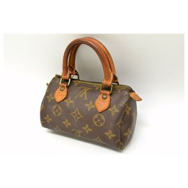Louis Vuitton-Louis Vuitton Mini Speedy-Brown