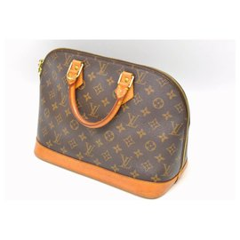 Louis Vuitton-Louis Vuitton Alma-Brown
