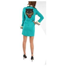 Gucci-Gucci dress new 100%-Bleu