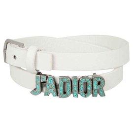 Dior-DIOR WHITE BRACELET J'ADIOR NEW-White