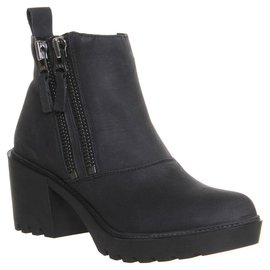 Office London-Ankle Boots-Black