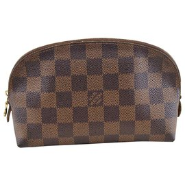 Louis Vuitton-Louis Vuitton Pochette Cosmetique-Marron