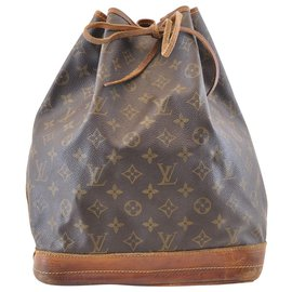 Louis Vuitton-Louis Vuitton Noe GM-Brown