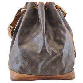 Louis Vuitton-Louis Vuitton Noe GM-Brown