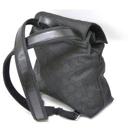 Gucci-Gucci backpack-Black