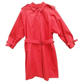 Burberry-imperméable Burberry vintage taille 42-Rouge